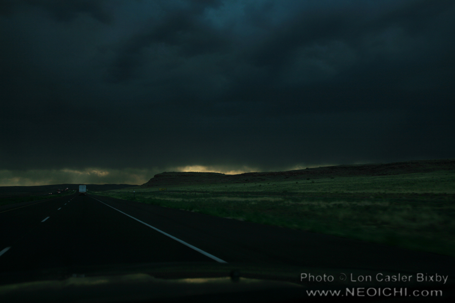 Driving Rain - Photography by Lon Casler Bixby - Copyright - All Rights Reserved - www.neoichi.com