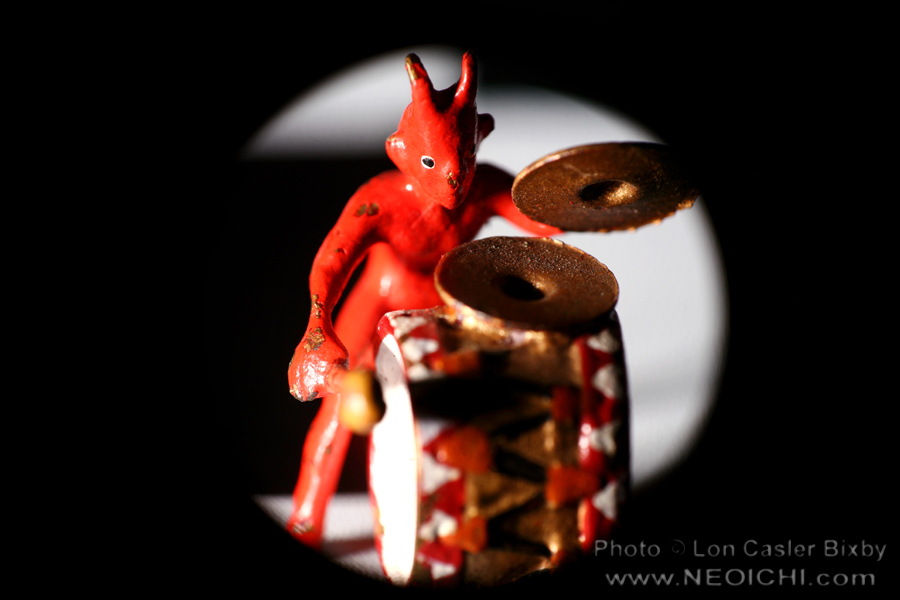 Little Devilish Sextet - Drums - Photography by Lon Casler Bixby - Copyright - All Rights Reserved - www.neoichi.com