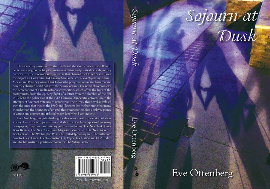 Sojourn at Dusk by Eve Ottenberg - Book Cover - Photography by Lon Casler Bixby - Copyright - All Rights Reserved - www.LCBPhotography.com - www.neoichi.com